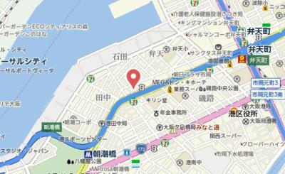【地図】セオリー大阪ベイシティ