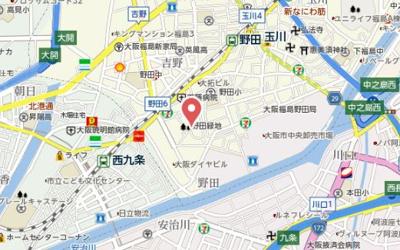 【地図】グリーンサイド野田