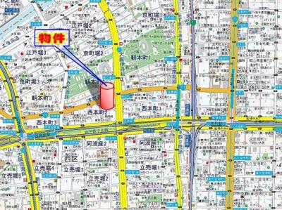 【地図】M.Hills西本町