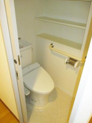 【トイレ】フローラル東葛西Ⅴ
