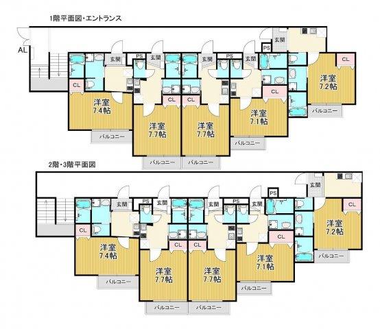 満室稼働中!鶴橋エリアの築浅一棟マンションの画像