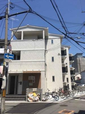 【外観】満室稼働中!鶴橋エリアの築浅一棟マンション