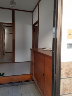 【玄関】鳥取市東町3丁目 借家
