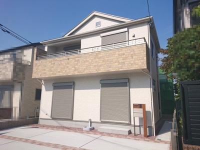 阪堺線「東湊」駅 徒歩3分!2021年7月完成!即ご入居可!南西道路に面する日当たり良好な4LDK♪