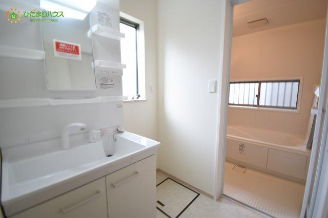 【洗面所】見沼区大谷 2期 新築一戸建て ハートフルタウン 01