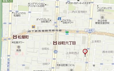 【地図】エイペックス上本町