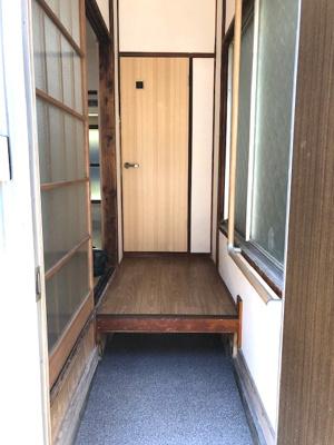 【玄関】興野鈴木荘