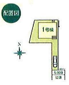 【区画図】東大和市蔵敷2丁目 新作戸建全2棟