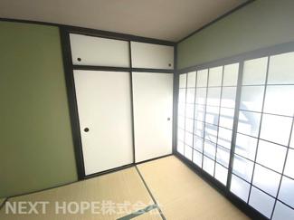 和室6帖です♪足を伸ばして寛げる居室です!小さなお子様の遊びスペースとしても活躍してくれます(^^)