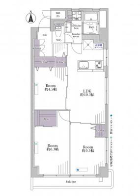 【展望】秀和第3東陽町レジデンス 4階 角 部屋 リ ノベーション