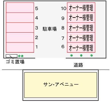【区画図】サンアベニュー