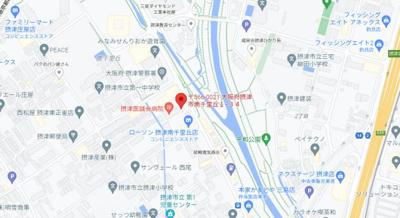 【地図】ハイツアザミ南千里丘