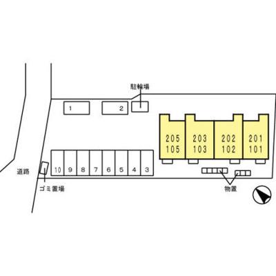 【区画図】D-room下堀