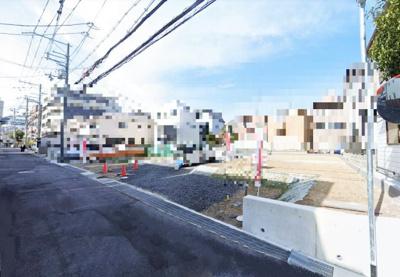 【地図】セキュレア東灘区田中町4丁目 4号地 売土地