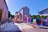 越谷市大林新築戸建て2棟現場4LDKの画像