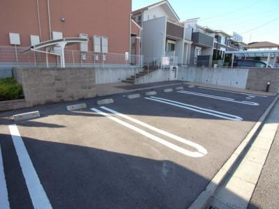 【駐車場】アルコバレーノ