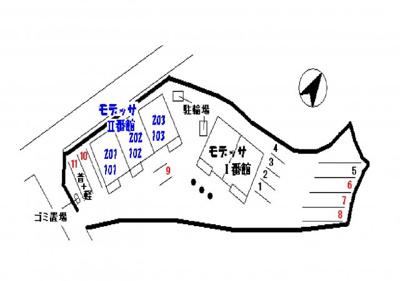 【区画図】モデッサⅡ番館