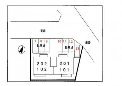 【区画図】プラドール丸山