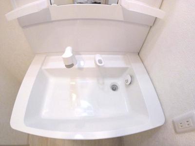 シャワー付き独立洗面台新調!