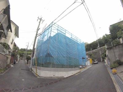 【前面道路含む現地写真】御殿山4丁目新築戸建