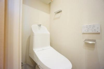 クリオ両国壱番館のトイレです。