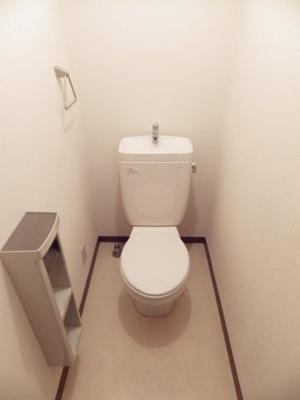 【トイレ】ヴィラ東新宿B