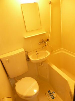 【浴室】スカイコート新宿第5