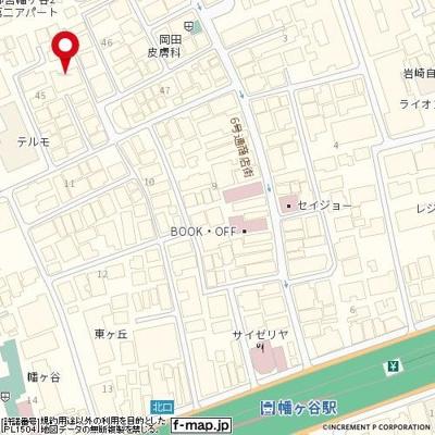 【地図】アイディ幡ヶ谷