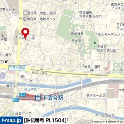 【地図】シエスタアプリコ