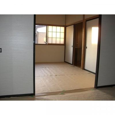 【居間・リビング】市川貸家