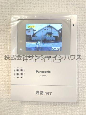 留守中の来客も録画で確認できます。