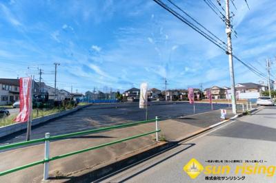 【周辺】武蔵村山市中原1丁目 売地 全9区画 E号区