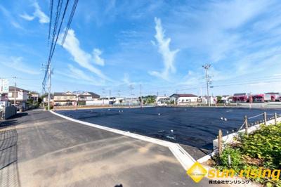【外観】武蔵村山市中原1丁目 売地 全9区画 E号区