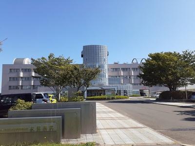 秋田病院まで888m