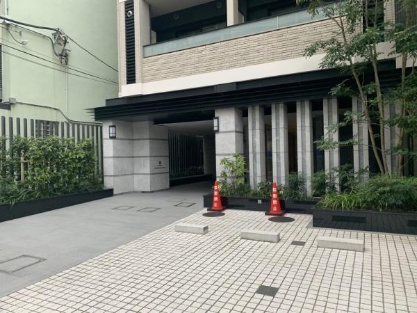 【エントランス】ザパークハウスアーバンス白金