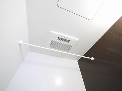 便利な浴室乾燥付き