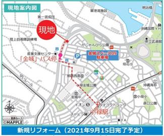 【地図】ライオンズマンション小禄金城第2