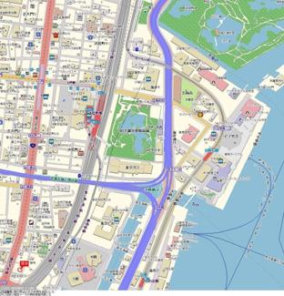 【地図】サンテミリオン三田