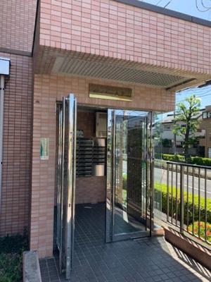 【エントランス】ヒルサイドテラス大倉山