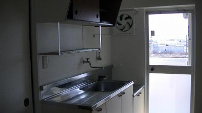 【キッチン】ビレッジハウス矢本2号棟