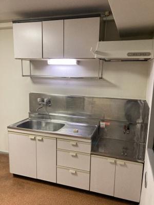 調理スペース付きキッチン