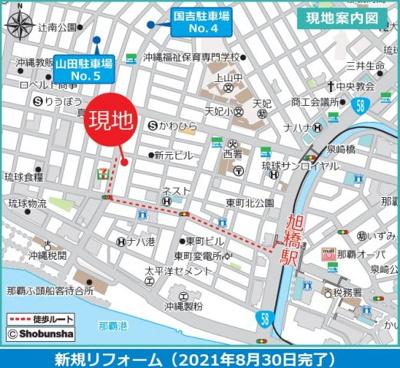 【地図】エンゼルハイム西町