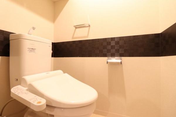 【トイレ】清潔感のあるお手洗いです!