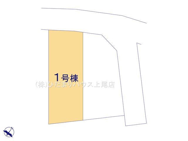 【区画図】北本市西高尾7丁目 新築一戸建て 01