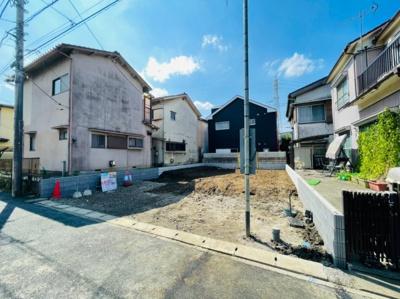 【外観】草加市谷塚町新築戸建て