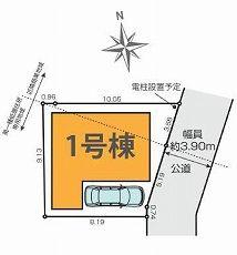 【区画図】練馬区富士見台2丁目 新築戸建