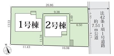 【区画図】GRAFARE名古屋市東茶屋6期