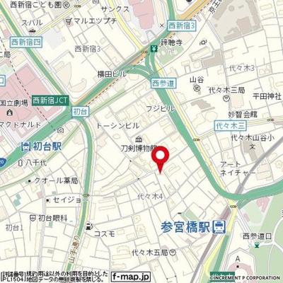 【地図】ニューハイツ切り通し
