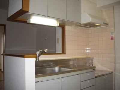 対面式キッチンスペース