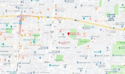 【地図】ヒルサイドハタ